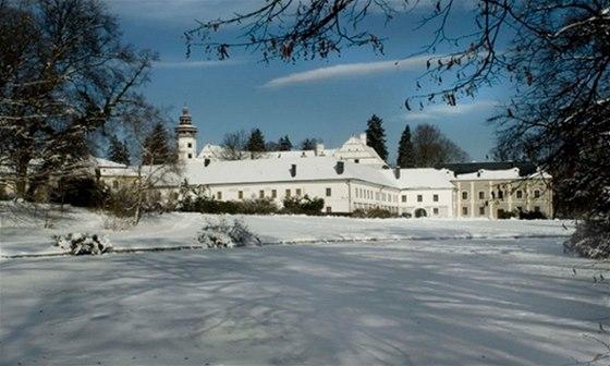 Renesanční zámek Velké Losiny otevřel vánoční výstavu historických hraček
