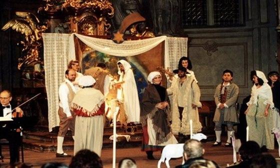V kostele sv. Šimona a Judy představí členové Národního divadla netradiční ztvárnění známé vánoční mše