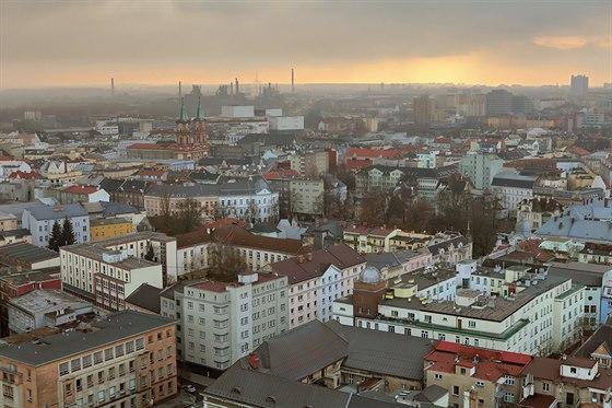 Výhled z radniční věže. Ostrava vždycky byla, je a bude jiná. Prostě Ostrava!