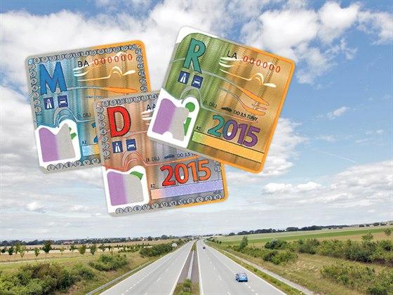 Dálniční známky 2015