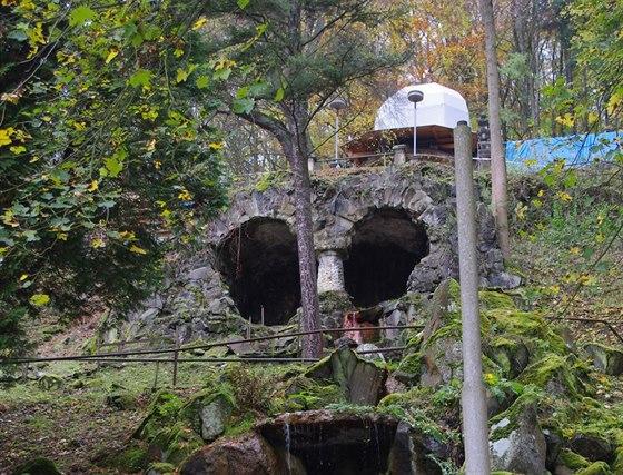 Kaskády Mattoniho vodopádu