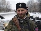 Proruský bojovník u Pervomajsku (6. prosince 2014)