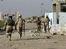 Irácké bezpečnostní složky v Ramádí (3. prosince 2014).