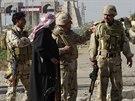 Iráčtí vojáci v Ramádí (3. prosince 2014).