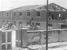 Stavba ubytovny pro odsouzené ženy ve věznici v Pardubicích.