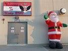 Na americké vojenské základně vládne Santa Claus.