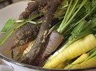 Černý kořen  a další kořenová zelenina