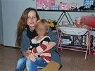 Eva Michaláková se svým synem. Naposledy jej i svého druhého syna viděla letos v březnu na dvě hodiny. Podle rodiny setkání norské úřady připustily po roce a půl.