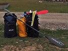 Bagáž cestovatele Marka Šimíčka. Jednou ji za půlhodinu musel sbalit a ještě doběhnout autobus.