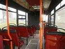 Interiér minibusu nabízí celkem 34 míst pro cestující.