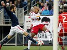 V ŠANCI. Thierry Henry v dresu New York Red Bulls.