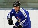 POSILA. Martin Lukeš, někdejší opora Baníku, se na ledě objevil co by host.