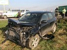 Při vážné nehodě na Šumpersku se zranilo celkem pět lidí, jedna žena skončila s vážnými zraněními ve Fakultní nemocnici Olomouc.