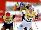 Mikko Kokslien (38) z Norska si v Lillehammeru dojel pro prvenství v závodě Světového poháru, potřeboval k tomu drtivý finiš.