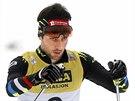 Francouzsk� sdru�en�� Jason Lamy Chappuis b�hem z�vodu Sv�tov�ho poh�ru v Lillehammeru.