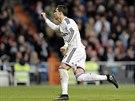 Cristiano Ronaldo z Realu Madrid slav� g�l proti Vigu.