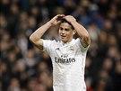 ALE NE... James Rodr�guez z Realu Madrid v z�pase proti Vigu