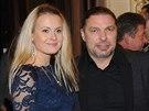 Český slavík 2014 - Petr Kolář s partnerkou