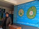 Ředitel samangánské školy Mohammad Farhad (22. prosince 2014).