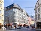 Hotel Imperial. Cenná je i původní fasáda z umělého kamene.