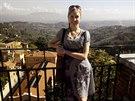 Aneta p�ijela do It�lie za studiem.