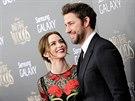Emily Bluntová a John Krasinski (New York, 8. prosince 2014)
