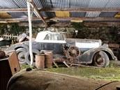 Zapomenutá sbírka automobilových veteránů Rogera Baillona