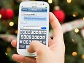 Váno�ní SMS p�ání (ilustra�ní foto)