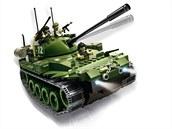 Cobi elektronická stavebnice, tank T-72 na dálkové ovládání