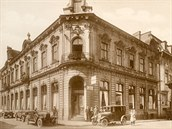 Hotel Heinrichshof (dnes Praha) v době největší slávy na začátku 20. století.