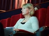 OSOBNOST V PUBLIKU. Mezi desítkami host� v publiku byla i dvojnásobná...