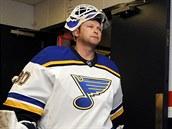 Martin Brodeur v dresu St. Louis Blues