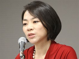 Heather Čoová, dcera šéfa aerolinek Korean Air na archivním snímku