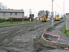 Průmyslová ulice v Kladně prochází kompletní rekonstrukcí