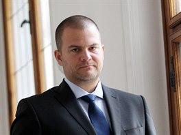 V NOVÉ ROLI. Martin Landa převzal po Liboru Šťástkovi funkci starosty Brna-střed.