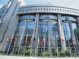 Budova Evropsk�ho parlamentu v Bruselu