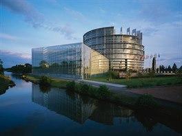 Budova Evropsk�ho parlamentu ve �trasburku