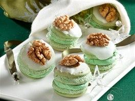 Pistáciové dortíčky