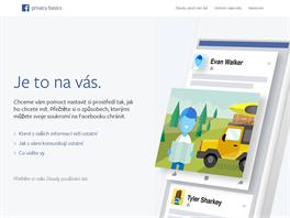 Základní podmínky Facebooku