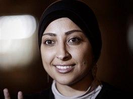 Bahrajnsk� disidentka Marjam Chav�d�aov� dostala rok v�zen� za �dajn� napaden� policistky.