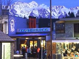 Nejlepší hamburger ve městě - Fergburger, Queenstown