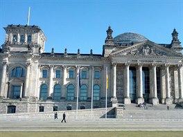 Budova Říšského sněmu v sobě snoubí historii i svěží modernu.