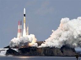 Start  japonsk� rakety H-2A se sondou Hajabusa 2 k asteroidu 1999 JU3.