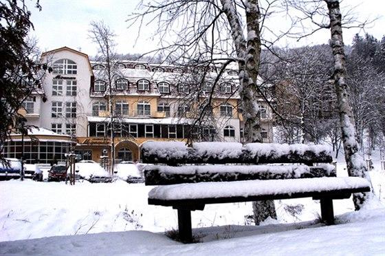 L�ze�sk� hotel MIRAMARE Luha�ovice