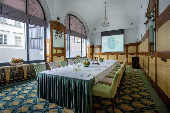 Příjemné prostory pro pracovní setkání nabízí hotel Paříž