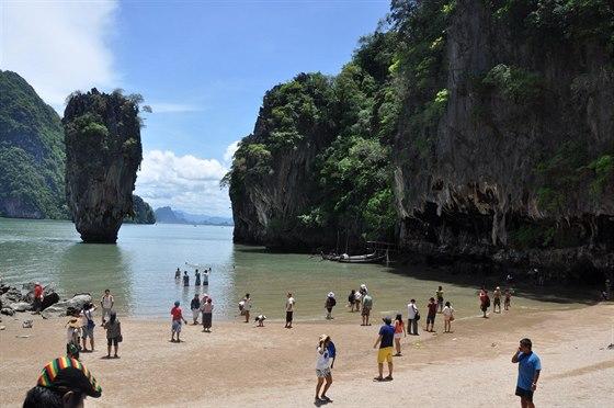 Thajsko - Ostrov Jamese Bonda
