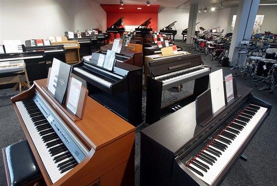Prodejna i e-shop mají široký výběr klávesových nástrojů.