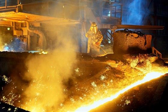 ArcelorMittal Ostrava zdokonal� odpr�en� vysok�ch pec�.