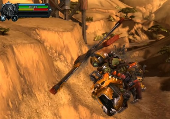Obrázek ze zrušené hry Warhammer 40 000: Dark Millenium