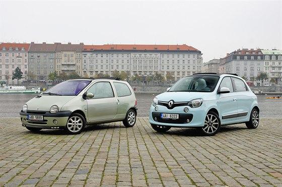 Renault Twingo první a třetí generace
